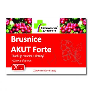 Brusnice Akut Forte